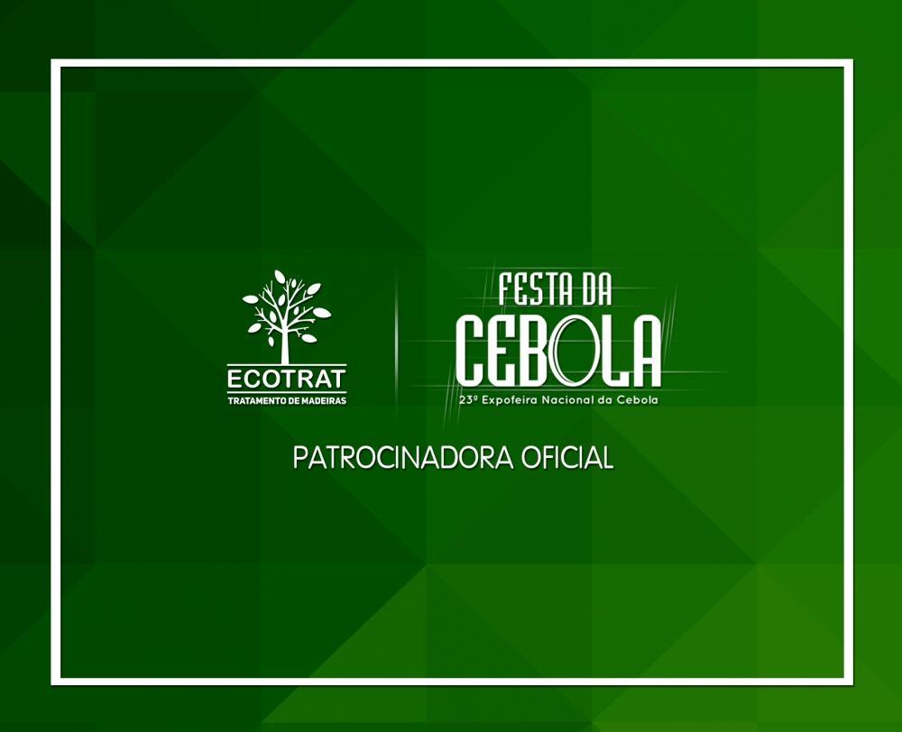 A Ecotrat é patrocinadora oficial da 23ª Expofeira Nacional da Cebola!