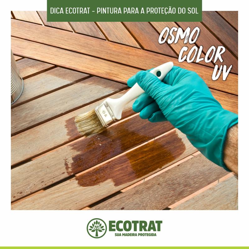 Dica Ecotrat: Pintura para a Proteção da Madeira Tratada