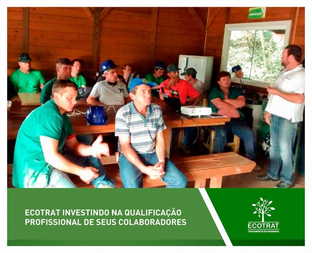 Investimentos na qualificação profissional dos colaboradores