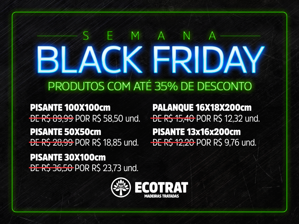 Semana Black Friday Ecotrat