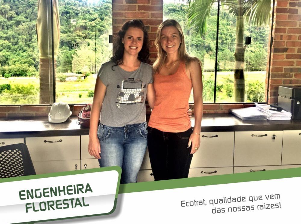 Sempre à frente, a Ecotrat contratou uma engenheira florestal!