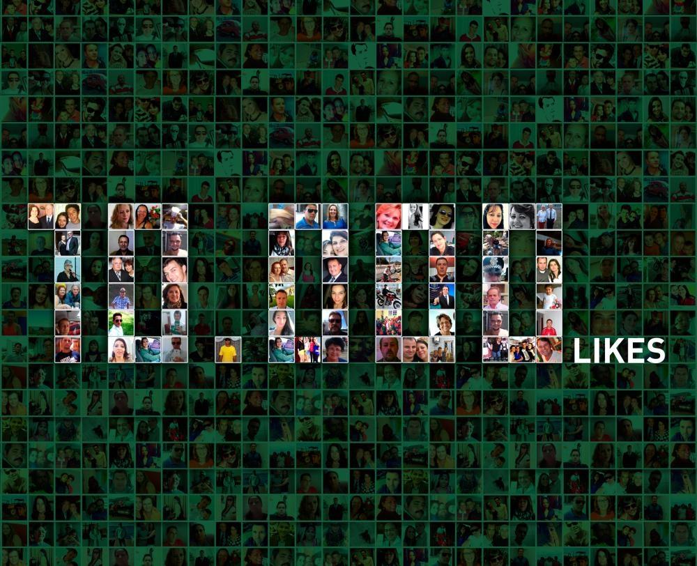 Ultrapassamos 10.000 curtidas em nossa fan page do Facebook