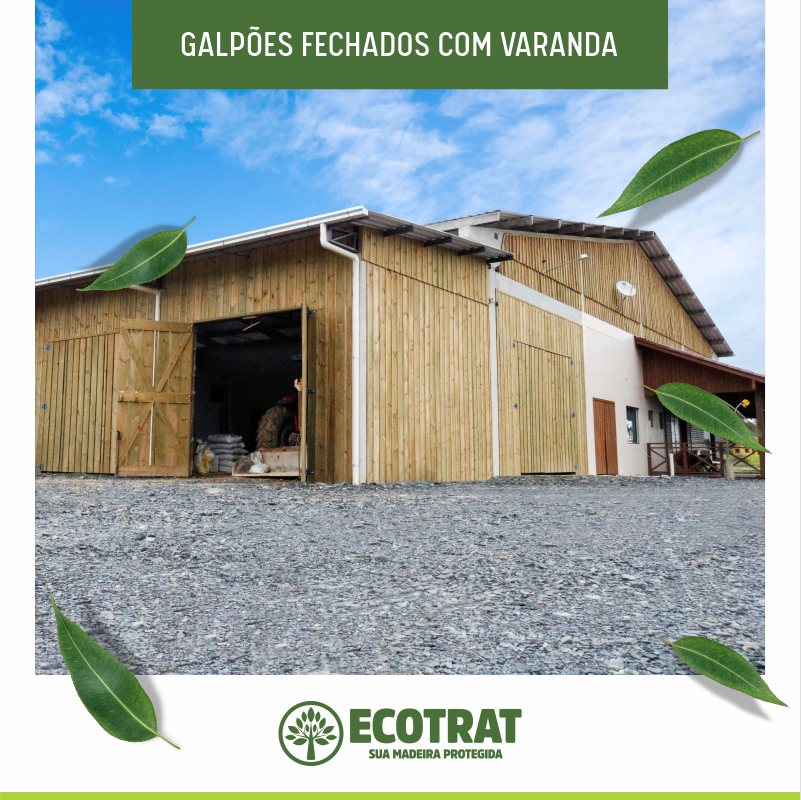 Galpões rurais Ecotrat