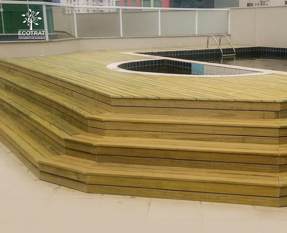 A madeira serrada é um material muito durável quando utilizado o tratamento adequado, protegendo efetivamente contra insetos, fungos e apodrecimentos.